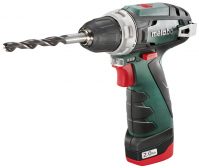 Akutrell PowerMaxx BS Basic, 2,0 Ah, kohvris, Metabo