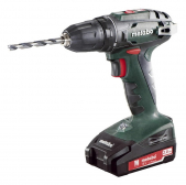 Akutrell BS 18, 13 mm padruniga / 2x2,0 Ah, Metabo