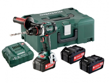 Akutrell BS 18 LTX Impuls SET / 3x4,0 Ah, Metabo
