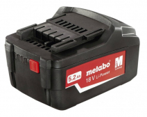 Aku 18 V 5,2 Ah Li-Power, Metabo